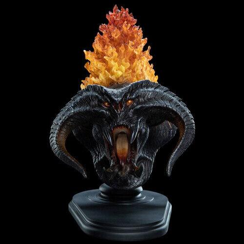 LORD OF THE RINGS - Balrog Flame of Udun Polystone Bust Weta