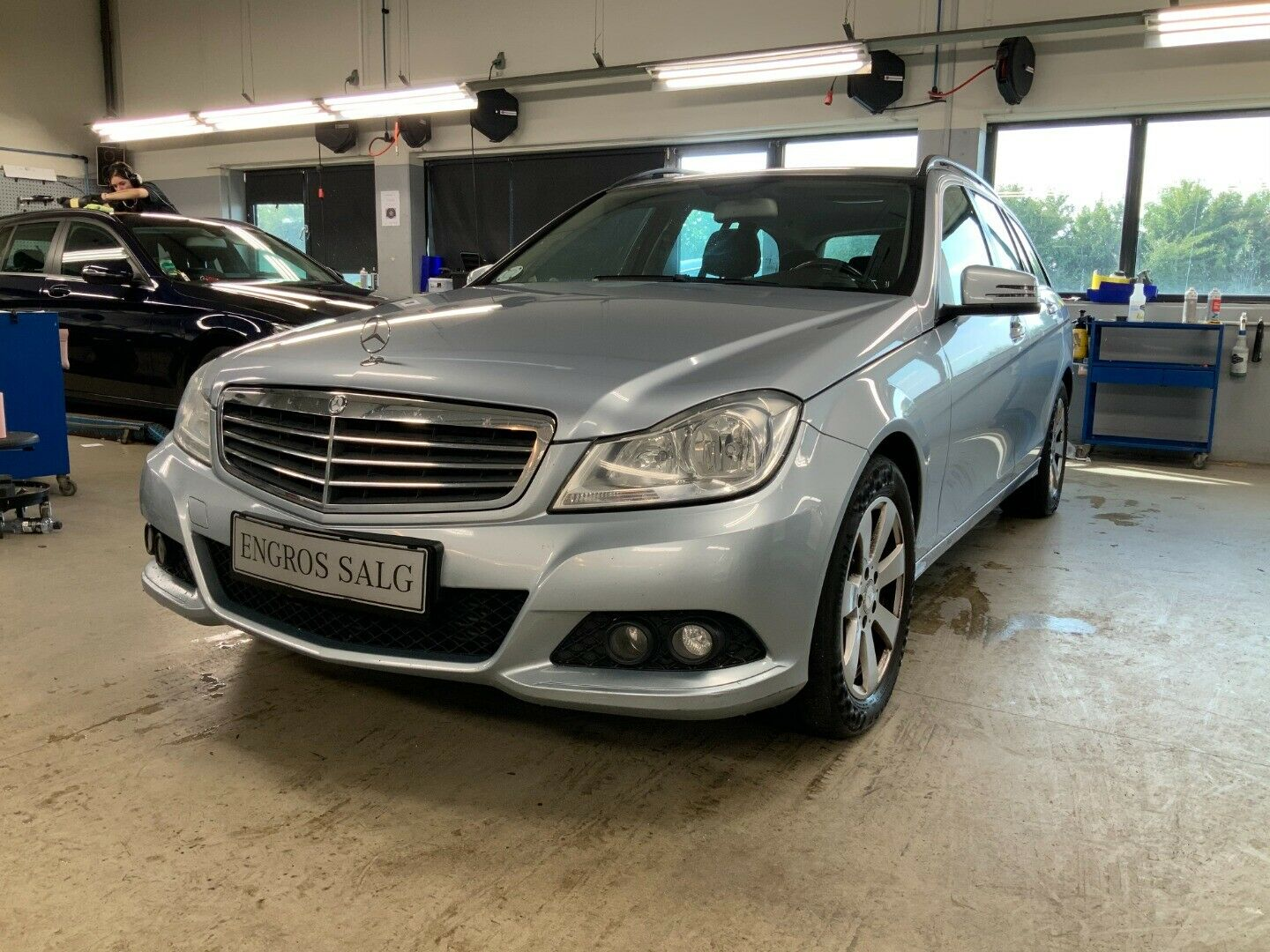 Mercedes-Benz C180 2,2 CDi stc. aut. BE