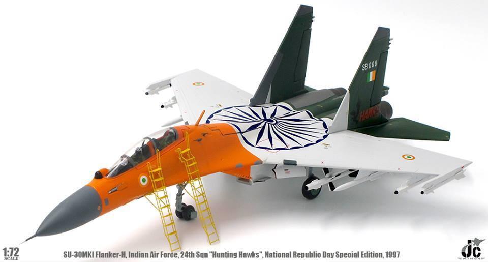 las mejores marcas venden barato Jcw72su30005 1 72 Su-30mki Ala Indio Af Nacional Nacional Nacional República Día Especial 1997  bajo precio