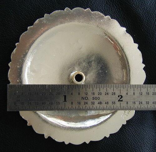 2.5 Silver Hand Engraved Pico Conchos 2-2 1//2