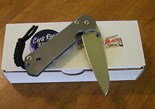 CHRIS REEVE New Small Sebenza 21 Left Hand Plain S35VN Insingo Bld Knife/Knives