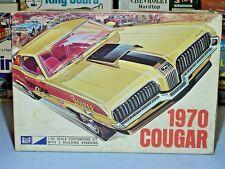 MPC ANNUAL 1970 MERCURY COUGAR HT #2270-200 AMT 1/25 RARE VINTAGE S/I MODEL KIT