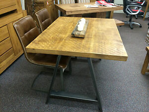 CONFERENCE BOARDROOM MEETING OFFICE INDUSTRIAL TABLECHAIRS METAL - Industrial conference room table