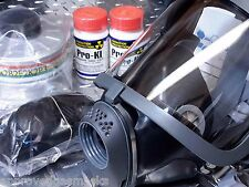 Scott/SEA 40mm NATO Gas Mask Kit w/case, amp & NBC/CBRN Filter ALL NEW exp 2021