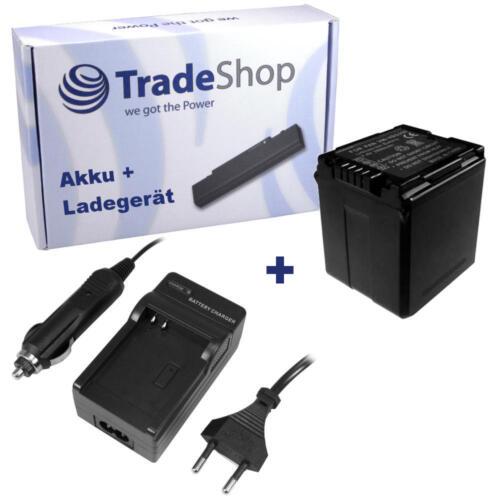 Batería CARGADOR para Panasonic nv-gs-330 hdc-hs-300 hc-x-800 hc-x-900