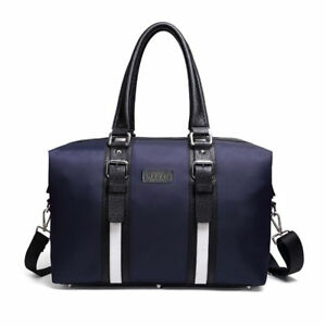 Mens Womens Fashion Oxford Travel Duffel Weekend Bag Holdall Carry On Handbag