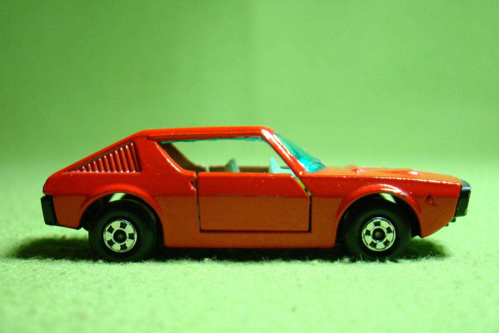 Modelos Coches - - - caja original de Matchbox - Superfast - No 62 Renault 17 TL - 6 label- c66a4f