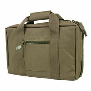 NcSTAR-Airsoft-Padded-Soft-Pistol-Case-Travel-Storage-Gun-Case-Holds-2-Tan