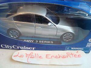COCHE-MINIATURA-BMW-SERIE-3-5-PORTES-NUEVA-EN-CAJA-1-32-NUEVA-RAY-REF-52023