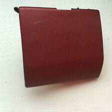 RENAULT LAGUNA FACELIFT FRONT BUMPER TOWING HOOK EYE COVER CAP MAROON (F52)