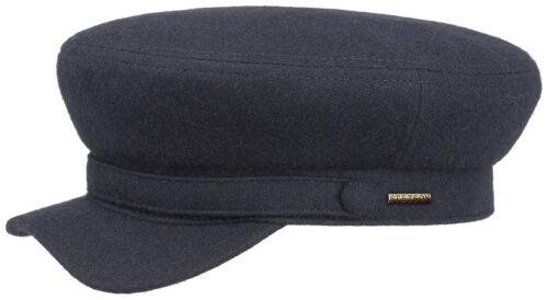 Stetson Driver cap gorra sombrero paraguas gorro lana elbsegler 2 azul oscuro Trend