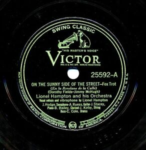 LIONEL-HAMPTON-on-1937-Victor-25592-On-the-Sunny-Side-of-the-Street