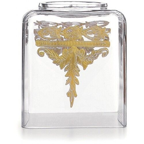 Arte Italica Baroque Gold Tissue Holder