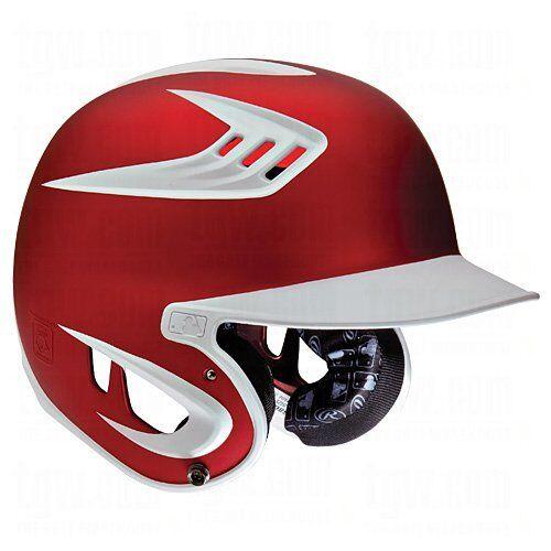 Rawlings S80X2S MW MS Rojo blancoo 80 mph Senior casco de bateo de béisbol masas
