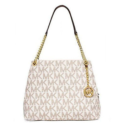 Michael Kors Bag 30S5GTCE9B MK Jet Set Chain Large Tote Vanilla Agsb #COD Paypal