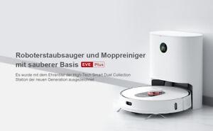 Roidmi EVE Plus Vacuum Robot Cleaning mit3L Cleaner Bag App Control Eu