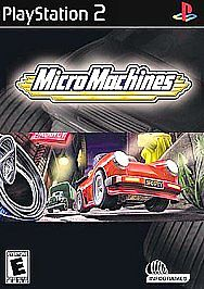 CIB-Micro-Machines-Sony-PlayStation-2-PS2-2003-Complete-TESTED