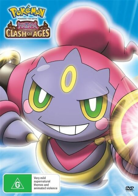 Pokemon The Movie Hoopa And The Clash Of Ages For Sale Online Ebay