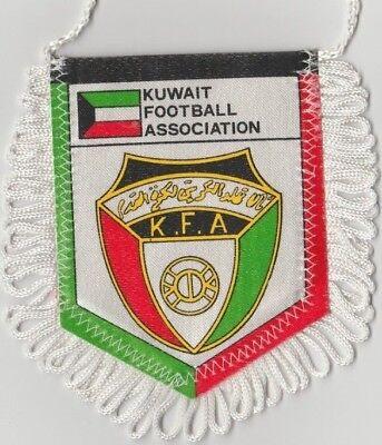 Orig.wimpel Fussball Verband Kuwait - 80ziger Jahre !! Selten
