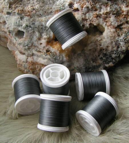 Price P. M € 0,0175 excl. Shipping Binder Yarn-Grey 2 x 100m # 8//0