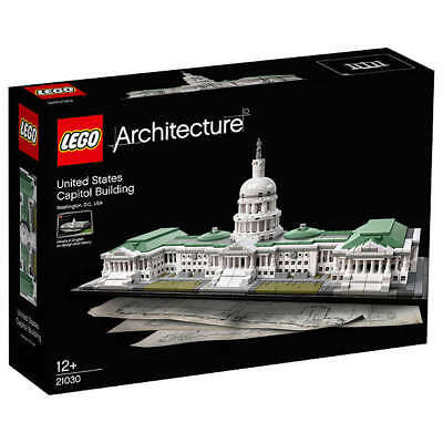 LEGO Architecture 21030 United States Capitol Building Kit 1032pcs NEW