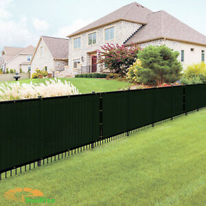 6-039-x50-039-Green-Windscreen-Privacy-Fence-Shade-Cover-Mesh-Outdoor-Lawn-Construction