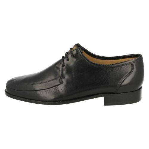 79 £ 99 da uomo bottoni con nera formale Scarpa Detroit in Blunt pelle di Thomas x6qOw7