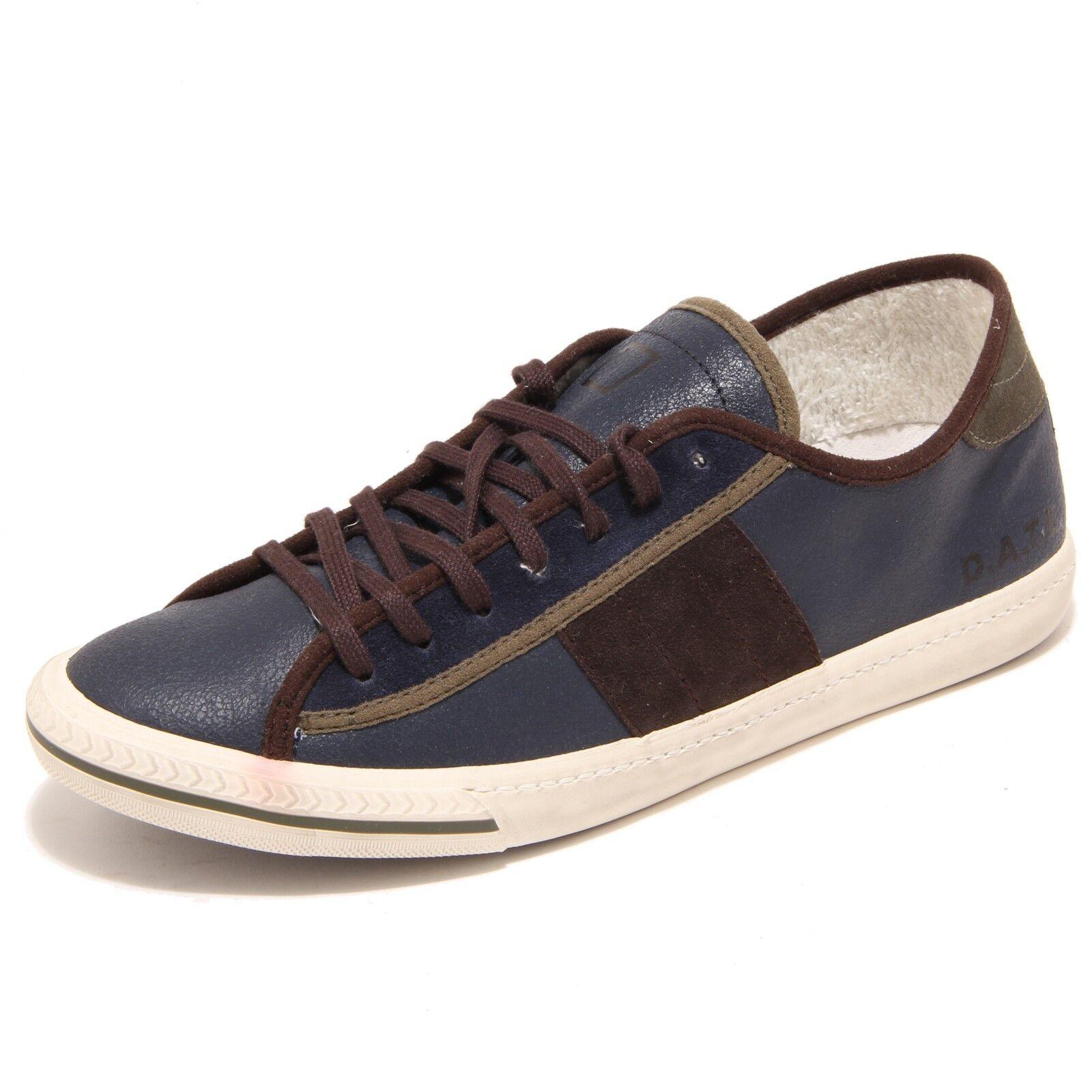 3068I scarpe da ginnastica uomo blu D.A.T.E. tender low plus scarpe Scarpe Uomo