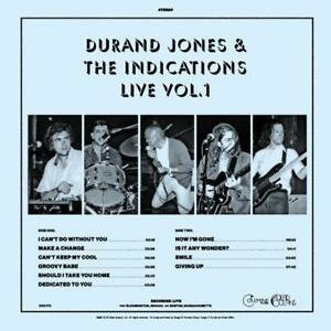 Durand-Jones-amp-The-Indications-Live-Vol-1-Translucent-Blue-Vinyl-RSD-Sealed