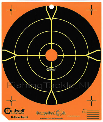 Caldwell Shooting Targets Orange Peel éclaboussures Fusil Air Co2 Gun Target Practice