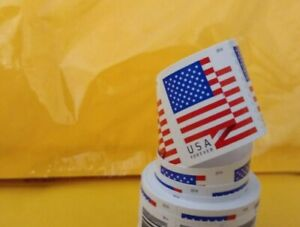100 USPS Forever Stamps. US Flag 2018 Forever Stamps - Roll of 100