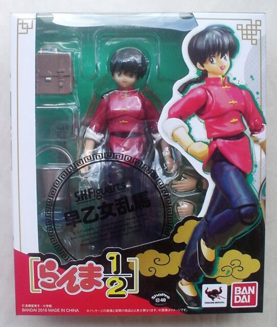 Male Action Figure BANDAI from Japan S.H.Figuarts Ranma 1//2 RANMA SAOTOME