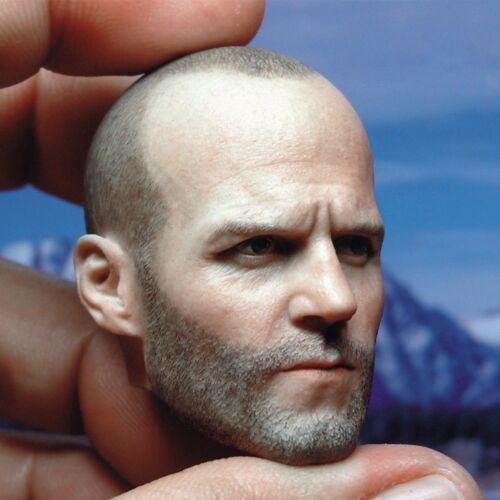 """Jason Statham 1//6 Scale Head Sculpt Model For 12/"""" Male Muscular Body Hot Toys"""