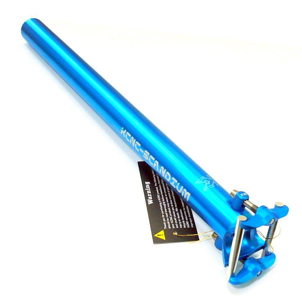 Gobike88 KCNC Ti Pro Lite 8000 seatpost, 31.6 X 400mm,177g,  bluee, A68  store online