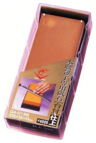 NANIWA EBI Japanese Whetstone Waterstone Sharpening Stone  4000 QA-0188
