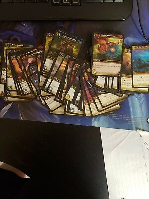 100 World of Warcraft CARD LOT Collection WOW TCG