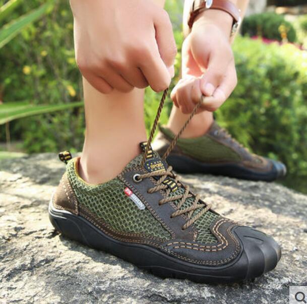 Mesh Schuhe Manner Herrenmode Halbschuhe Outdoor Schick Schuhe Manner Schuhe Schnürsenkel  top c51673
