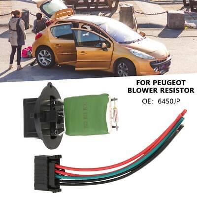 Peugeot 206 307 CC heater blower fan Résistance Moteur Air avec climatisation