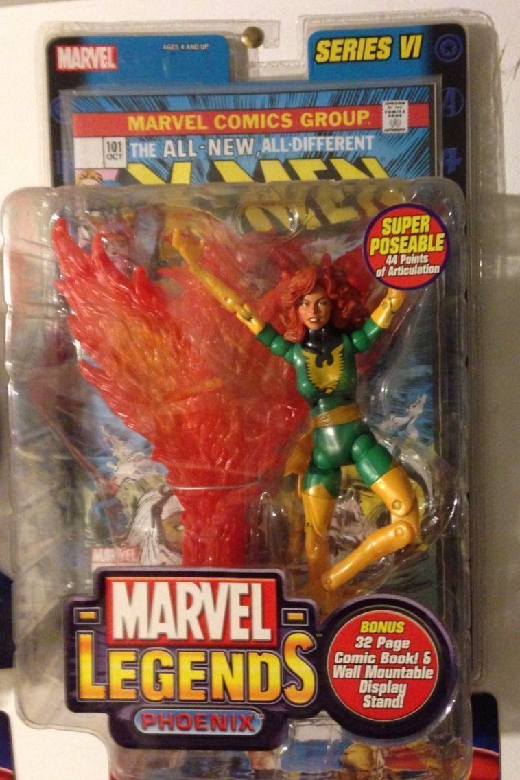 Marvel - legenden seltene serie 6 phoenix jean grau spielzeug - biz moc - action - figur