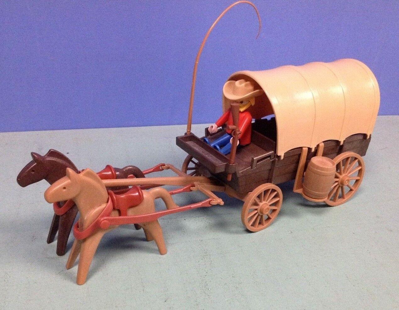 (O3278.2) playmobil chariot western V2 ref 3278 3278 3278 vintage klicky 1978 3a087c