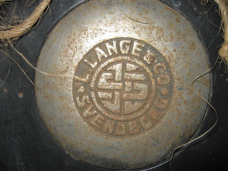 Brændekomfur, L. Lange & Co