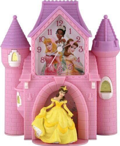 Disney Disney Princess Custom Shaped Castle Bank Alarm Clock