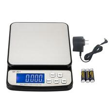 110 Lb X 01 Oz Pro Digital Postal Shipping Scale Weight Kitchen Count Adapter