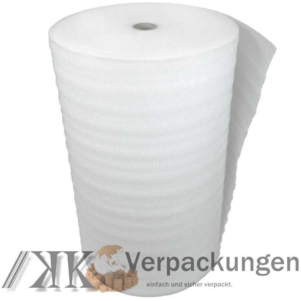 200 m² Trittschalldämmung 3 mm aus PE Schaum für Laminat Parkett als Unterlage