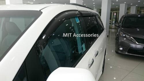 Window visor for Toyota SIENNA 2011-2020 sun guard rain deflector vent shade