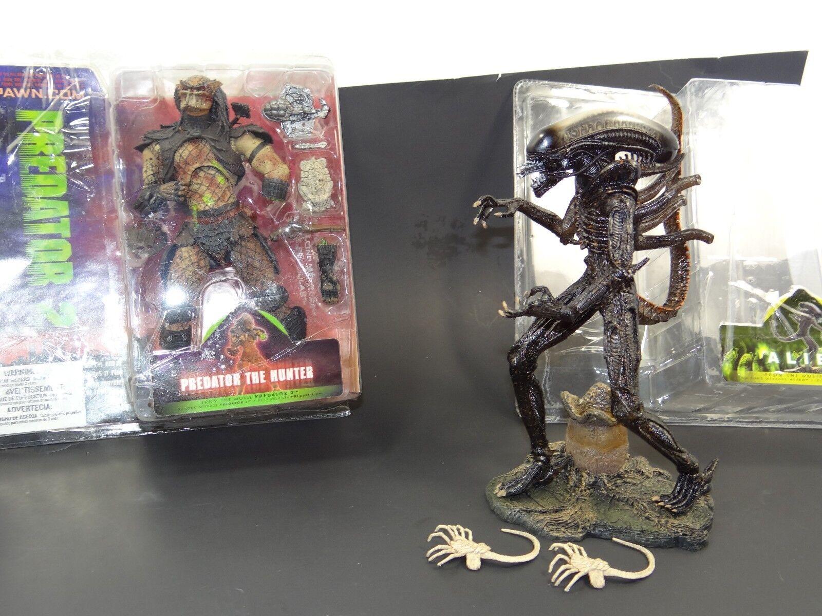 Mcfarlane spielzeug alien und protator deluxe