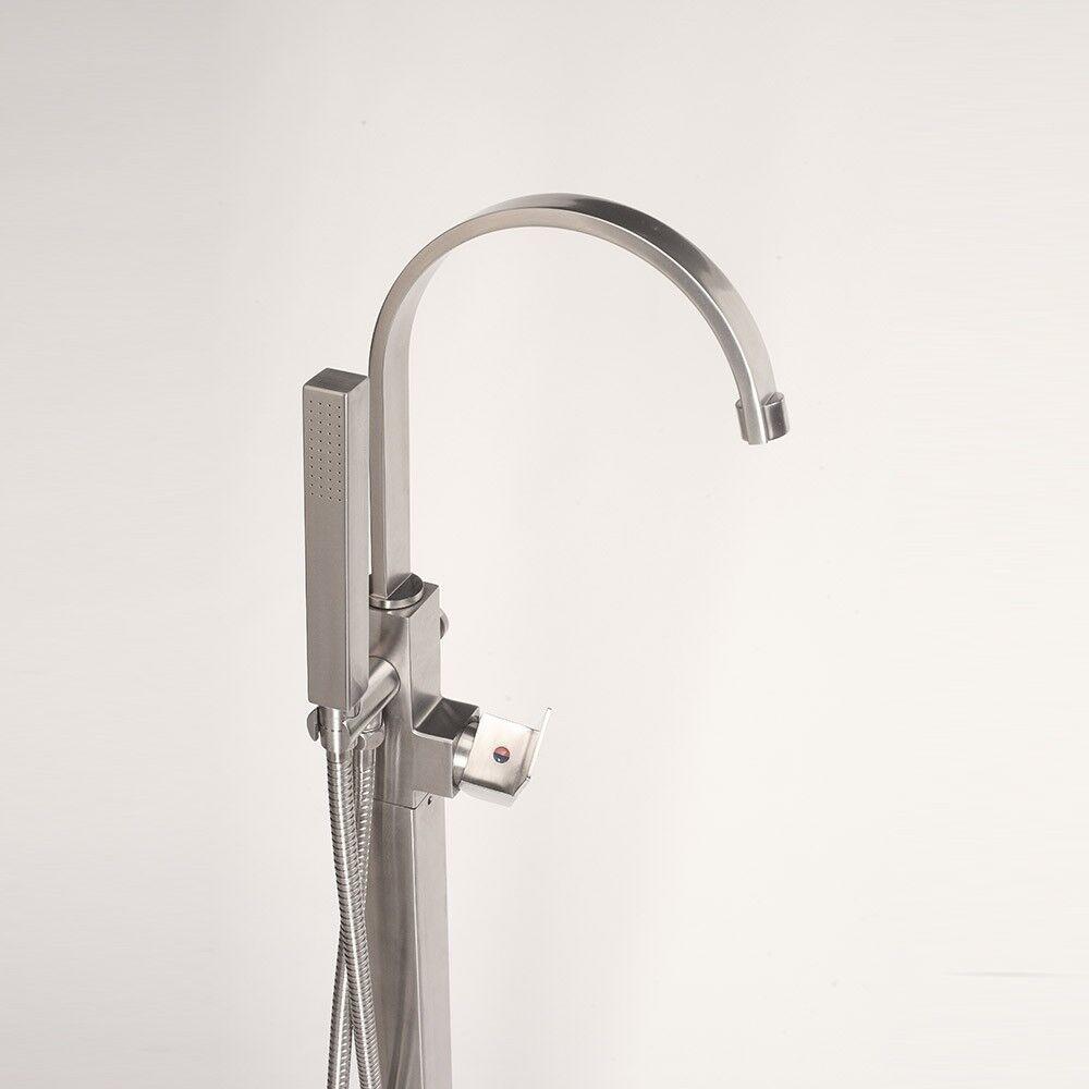 HOME DELUXE Design Standarmatur Armatur freistehend Wannenarmatur Brause