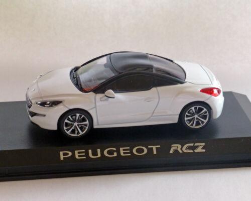 Peugeot RCZ weiss NOREV 1:43
