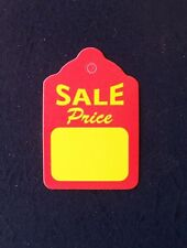 200 Merchandise Unstrung Price Sale Scallop Display Tags 1 14 X 1 78
