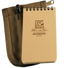 """Rite in the Rain 935T-Kit All-Weather Universal Notebook Kit, Tan, 3"""" x 5"""""""